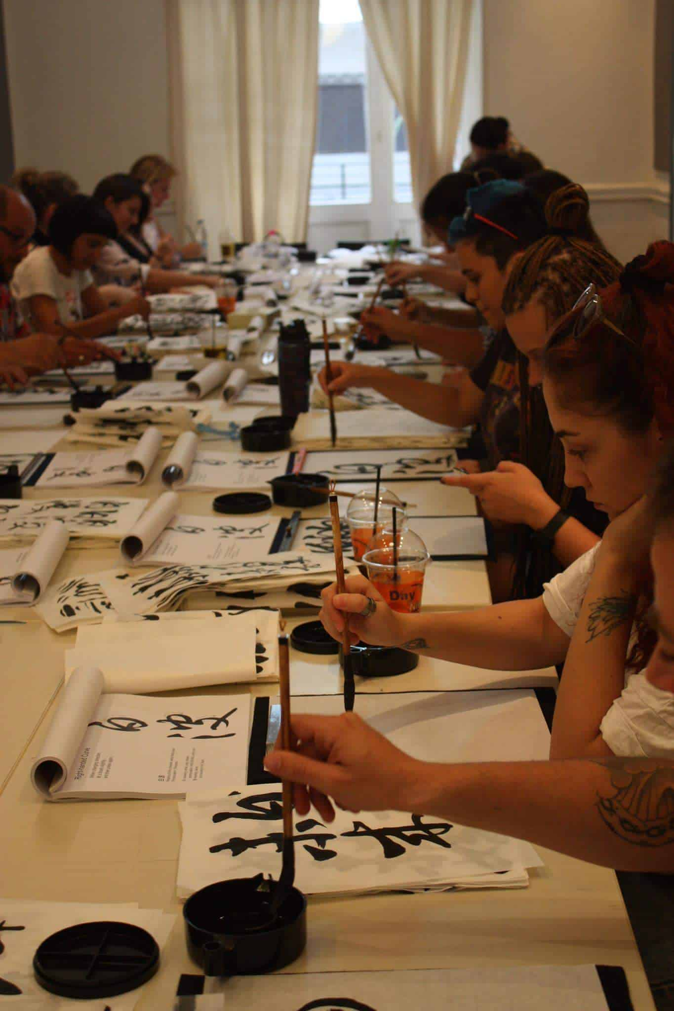 14500205 10210644690981295 6614427670625452791 o - Calligraphy workshop in Greece